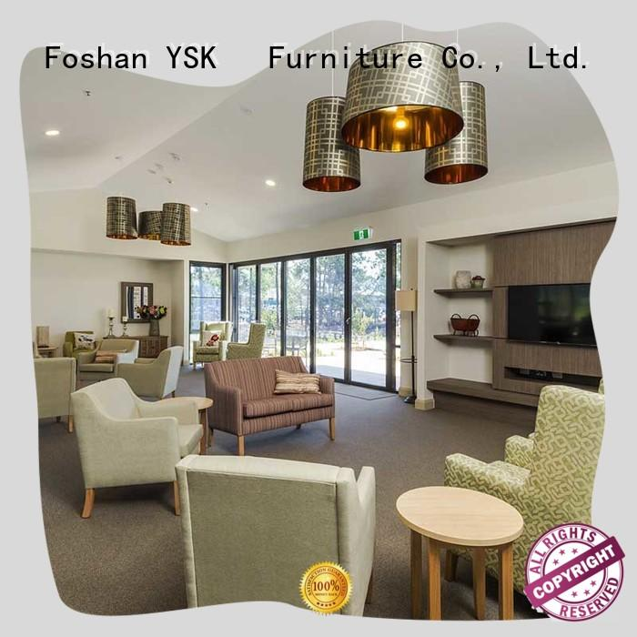 dining furniture for nursing homes low cost facility community YSK Furniture