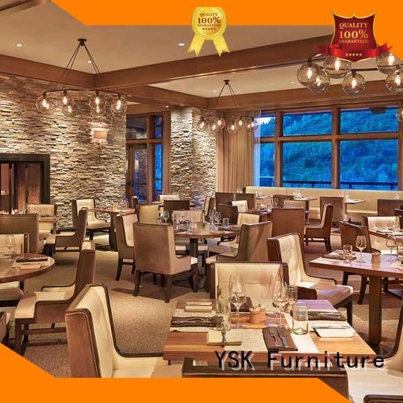 YSK Furniture custom restaurant furniture luxury dining furniture