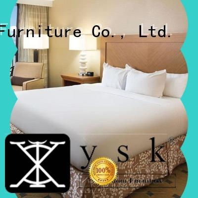 YSK Furniture hot-sale used hotel lobby furniture twin modern bedroom