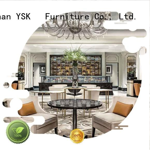 YSK Furniture bulk production clubhouse furniture house for bedroom