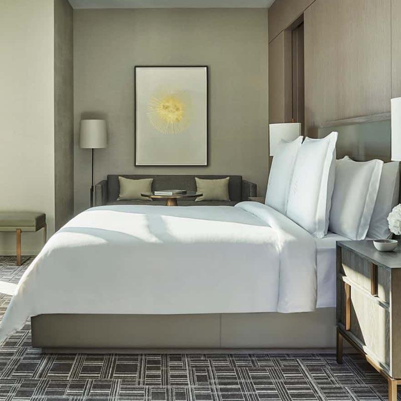 Deluxe Five Star Hotel Bedroom Set Furniture