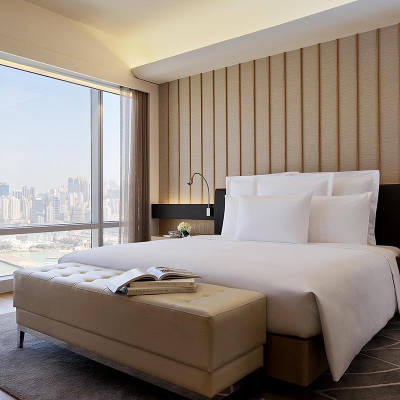 Latest Resort Hotel Suite Wooden Furniture