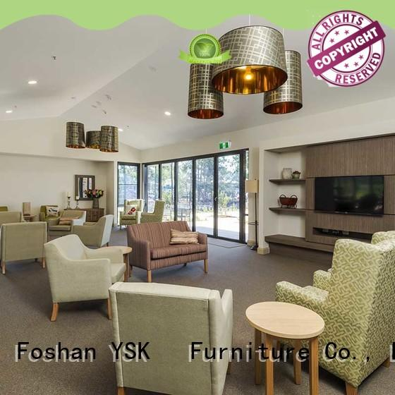 at discount retirement home furniture facility community YSK Furniture