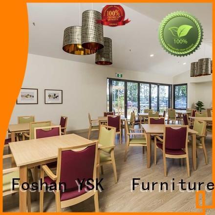 YSK Furniture wooden senior living furniture furniture room decoration
