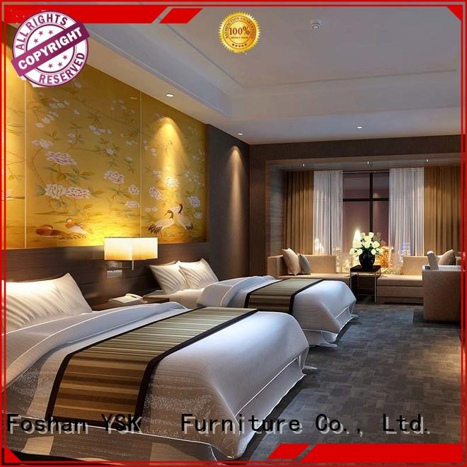 YSK Furniture latest 5 star hotel furniture for sale contract