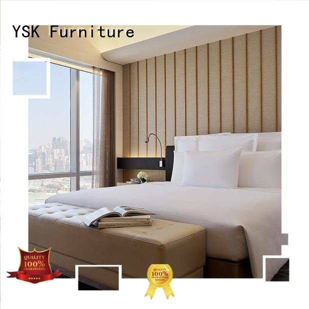 YSK Furniture latest hotel room furniture suppliers wholesale for furnishings
