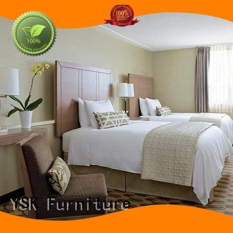 high-quality unique apartment hotel furniture low cost bedroom decoration YSK Furniture