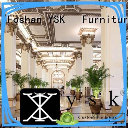 luxury casino YSK Furniture Brand club sofa