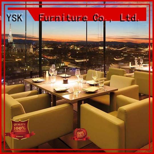 commercial restaurant furniture design luxury five star hotel YSK Furniture