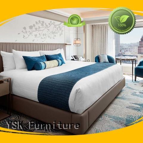 YSK Furniture commercial hotel room set hot-sale hotels room