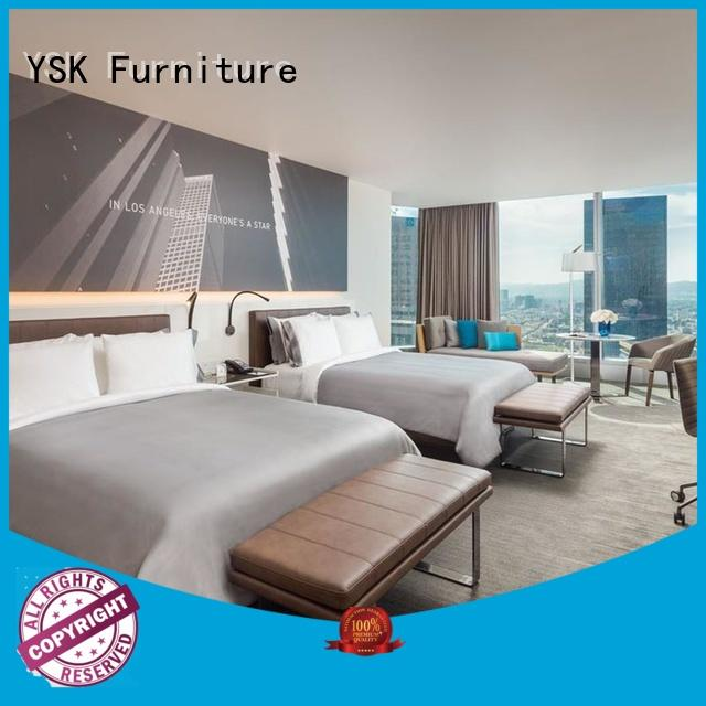 YSK Furniture Brand oem project hotel sofa contemporary supplier
