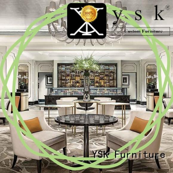 YSK Furniture bulk production club furniture sofa contract for hotel