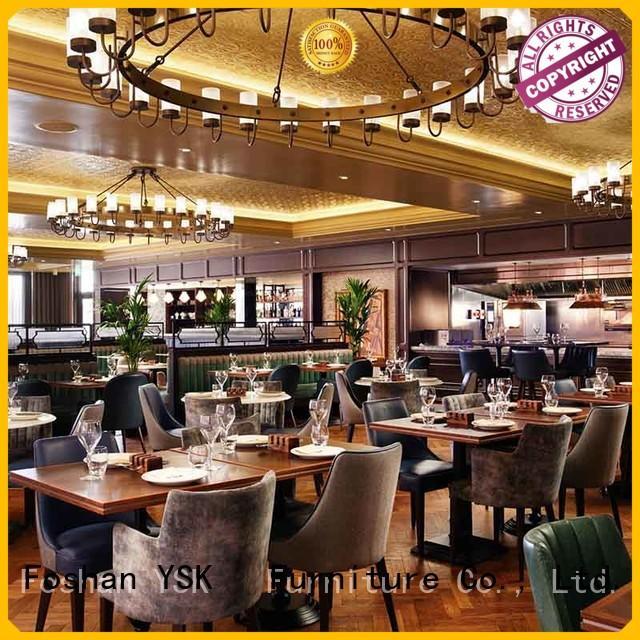 YSK Furniture custom restaurant furniture luxury restaurant furniture