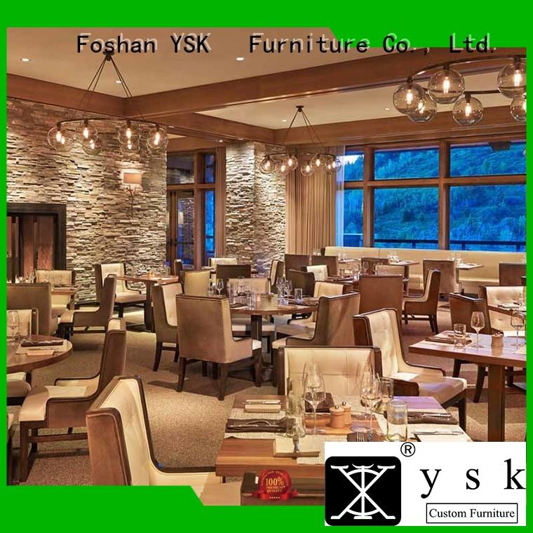 wooden luxury restaurant furniture customization high quality five star hotel