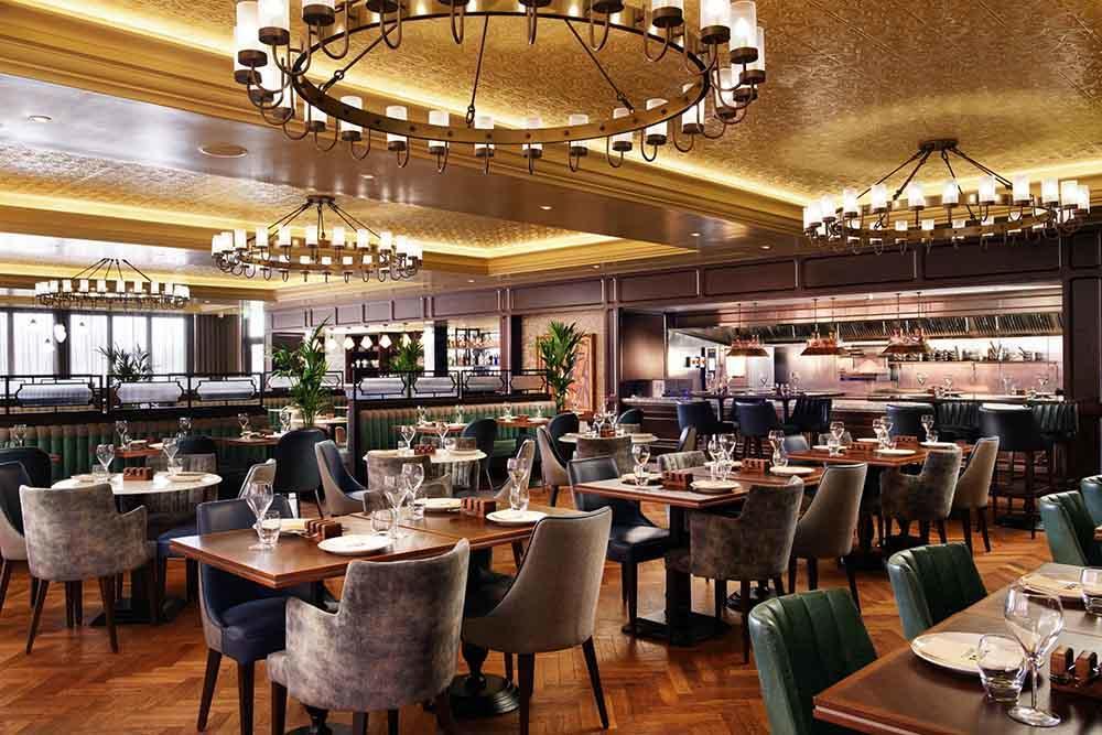 YSK Furniture high grade modern restaurant furniture plywood dining furniture-1