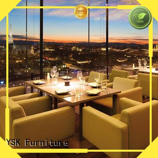 YSK Furniture unique contract restaurant furniture plywood dining furniture