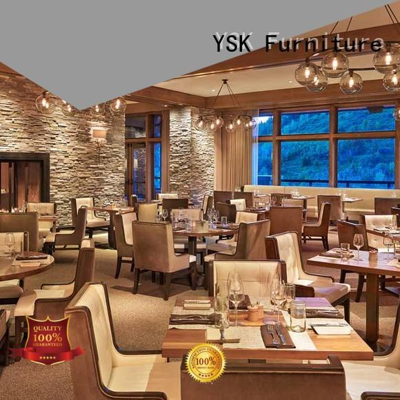YSK Furniture restaurant furniture design plywood dining furniture