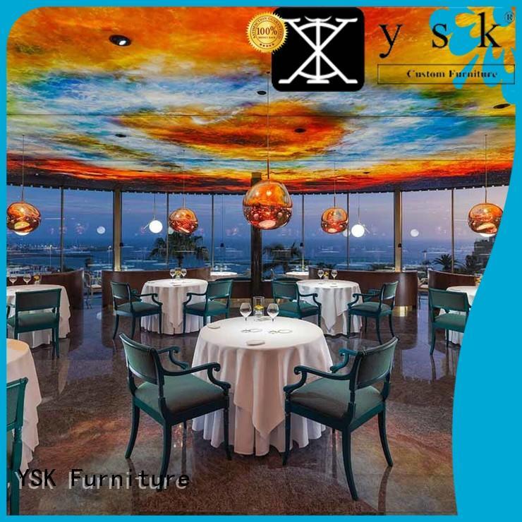 furniture table dining grade bespoke dining table YSK Furniture Brand