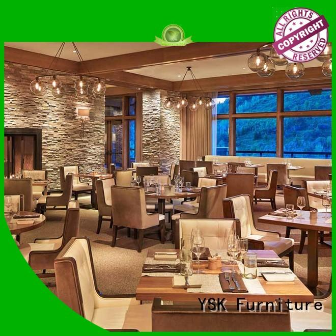 on-sale restaurant furniture manufacturers plywood five star hotel YSK Furniture
