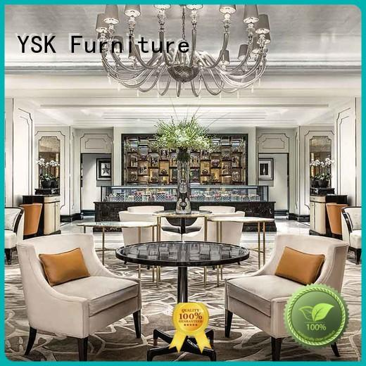 YSK Furniture professional clubhouse furniture hospitality for hotel