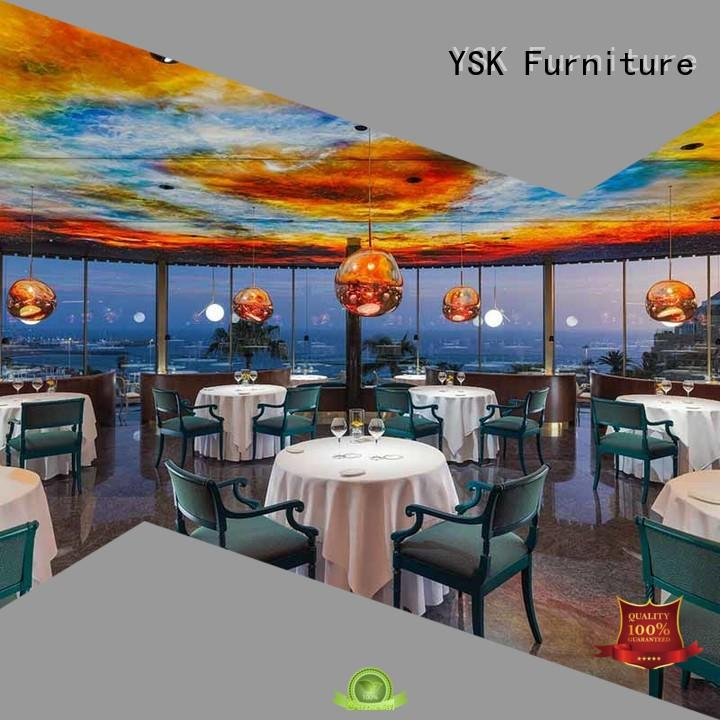 contract restaurant furniture solid wood restaurant furniture YSK Furniture