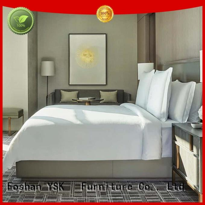 luxury hotel restaurant furniture oem modern bedroom YSK Furniture