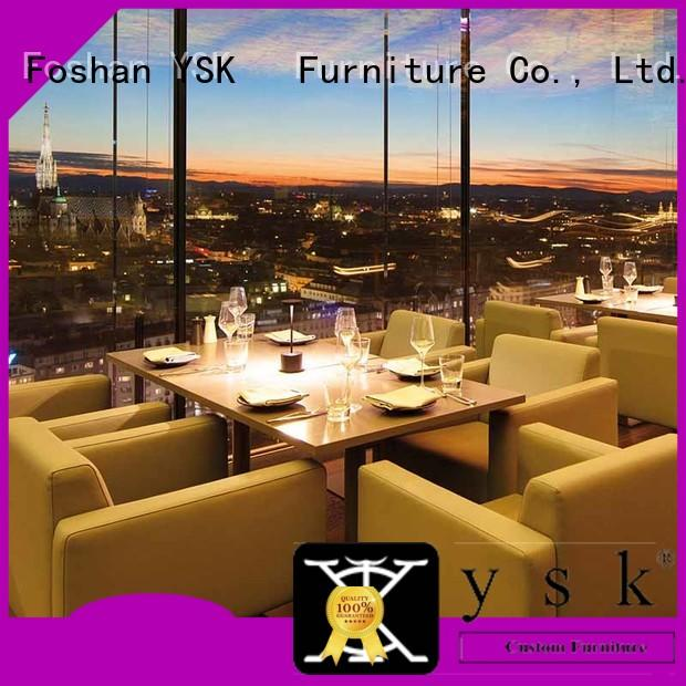YSK Furniture customization restaurant furniture high quality five star hotel