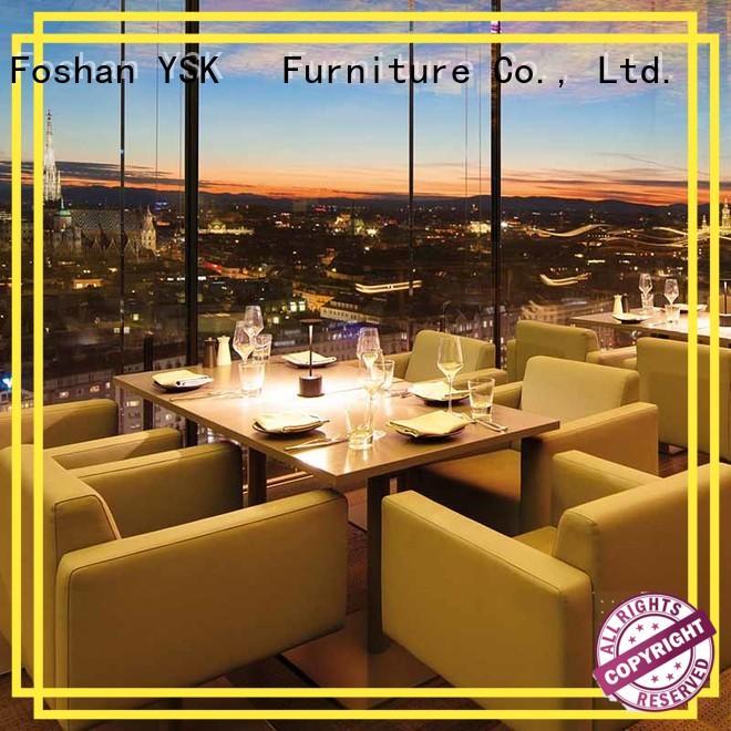 YSK Furniture contract cruise modern restaurant furniture stylish made ship furniture