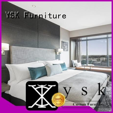 YSK Furniture wooden commercial apartment furniture furniture star room