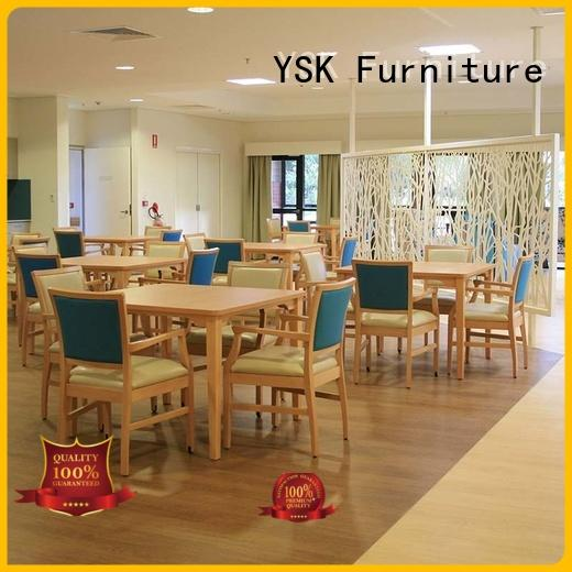 professional assisted living furniture factory price expert room decoration
