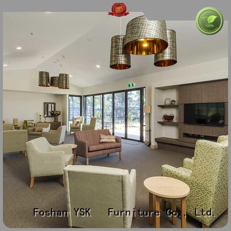 YSK Furniture at discount retirement home furniture premier facility community