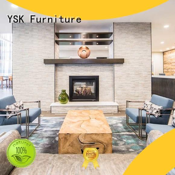 YSK Furniture high-quality clubhouse furniture custom made for room