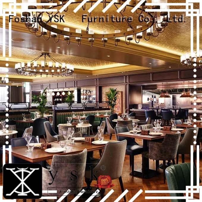 YSK Furniture customization restaurant tables tables star