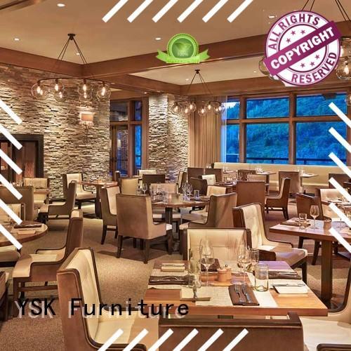 YSK Furniture Chinese restaurant modern restaurant furniture interior ship furniture