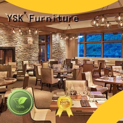 YSK Furniture modern restaurant furniture high quality five star hotel