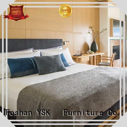 YSK Furniture deluxe hotel lounge furniture for sale wooden for furnishings