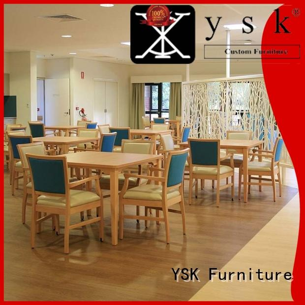 comfortable retirement home furniture at discount custom made facility community