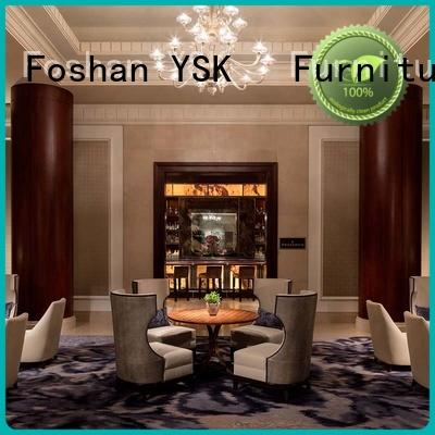YSK Furniture professional clubhouse furniture end for hotel