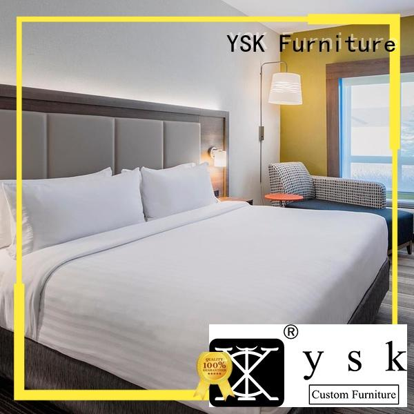 YSK Furniture commercial hotel room furniture quality for furniture