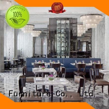 YSK Furniture contract cruise modern restaurant furniture plywood dining furniture