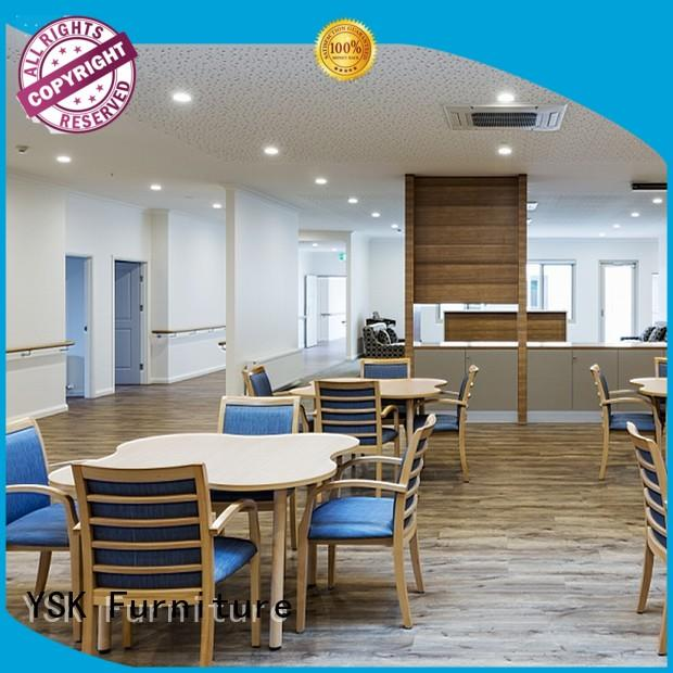 wooden senior living furniture supplier health senior age YSK Furniture