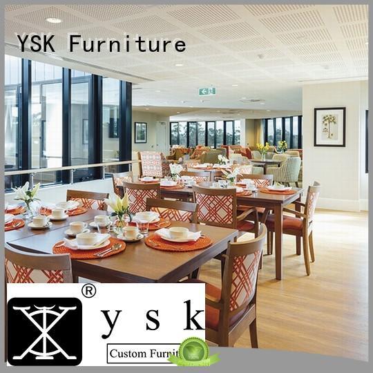 YSK Furniture contract cruise restaurant furniture plywood ship furniture