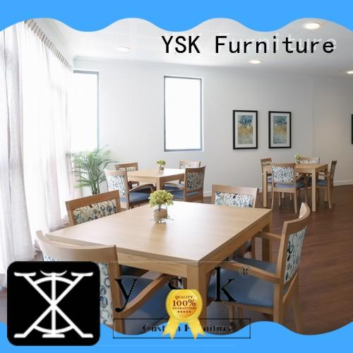 comfortable aged care furniture low cost custom made facility community
