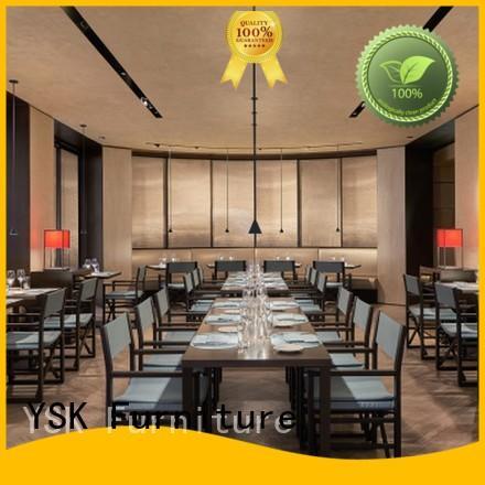 YSK Furniture commercial custom restaurant furniture interior five star hotel