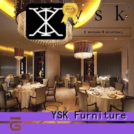 YSK Furniture high-end restaurant furniture manufacturers solid wood dining furniture
