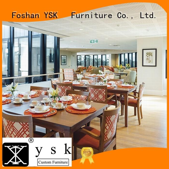 YSK Furniture custom restaurant furniture high quality dining furniture