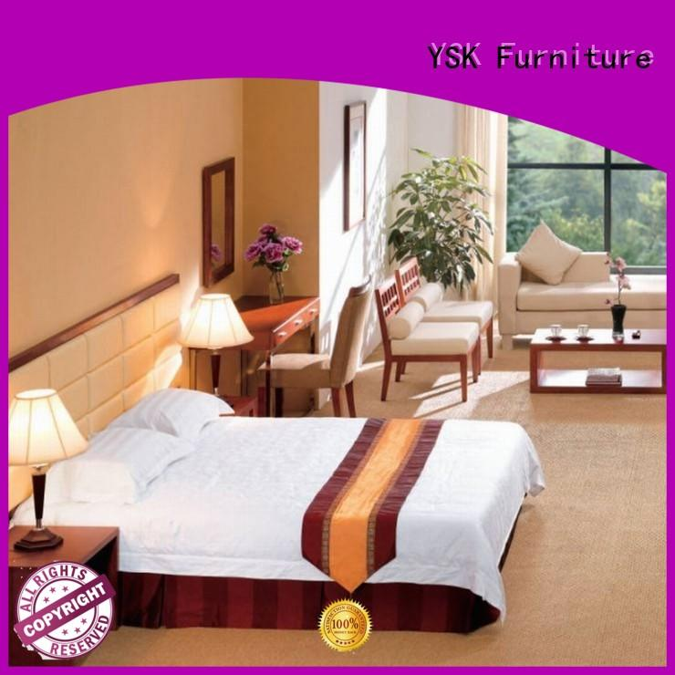 YSK Furniture customized commercial hotel furniture