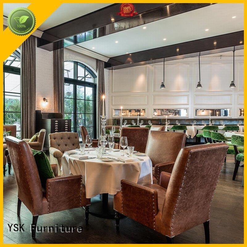 YSK Furniture contract restaurant furniture stylish made restaurant furniture