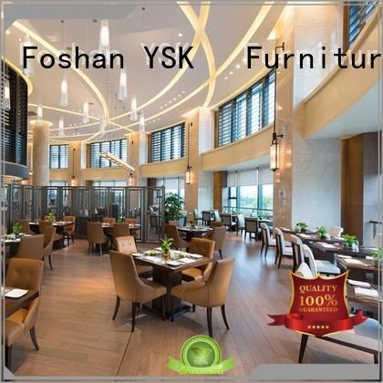 YSK Furniture on-sale restaurant furniture design plywood ship furniture