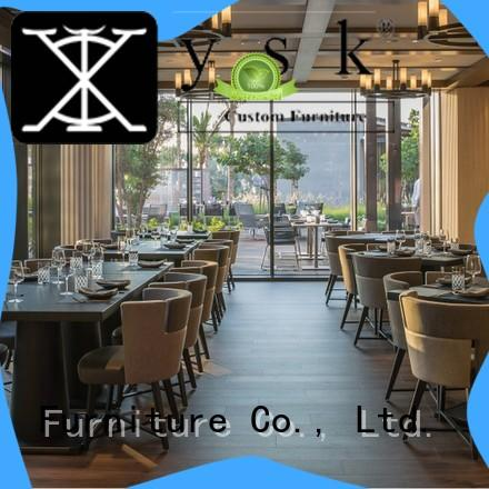 YSK Furniture upholstery contract restaurant furniture stylish made dining furniture
